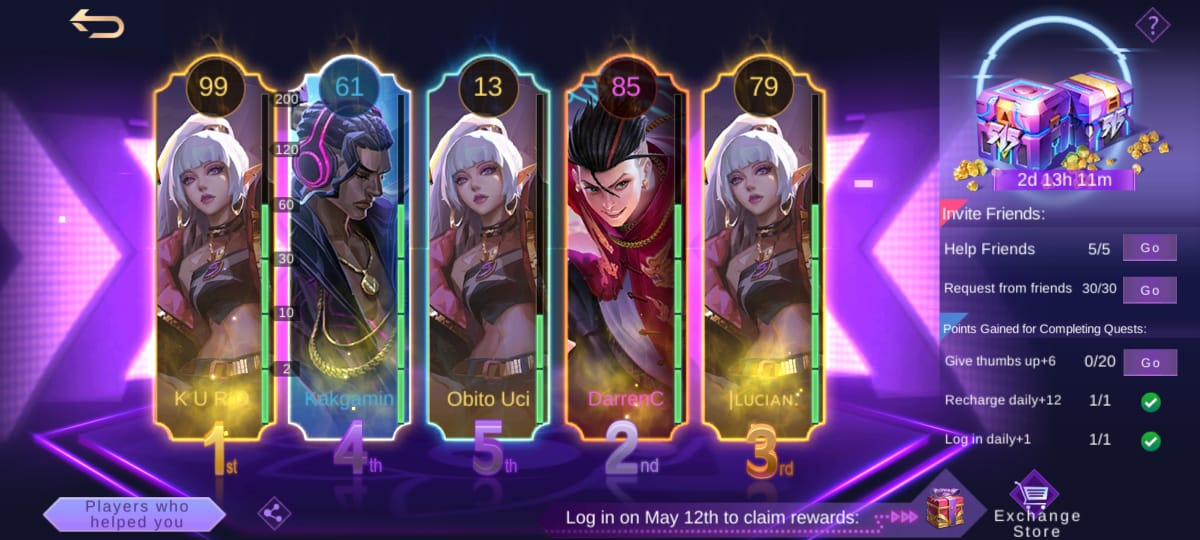 Diamond Kuning Mobile Legends