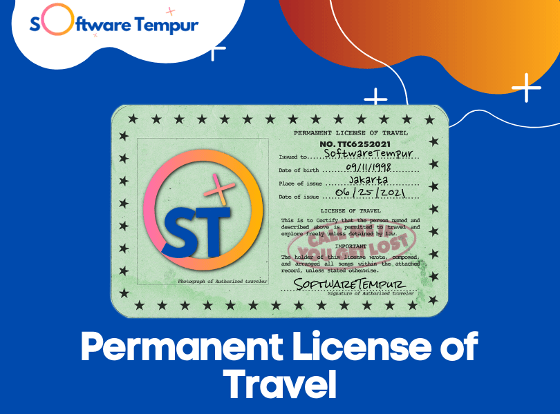 Permanent License of Travel